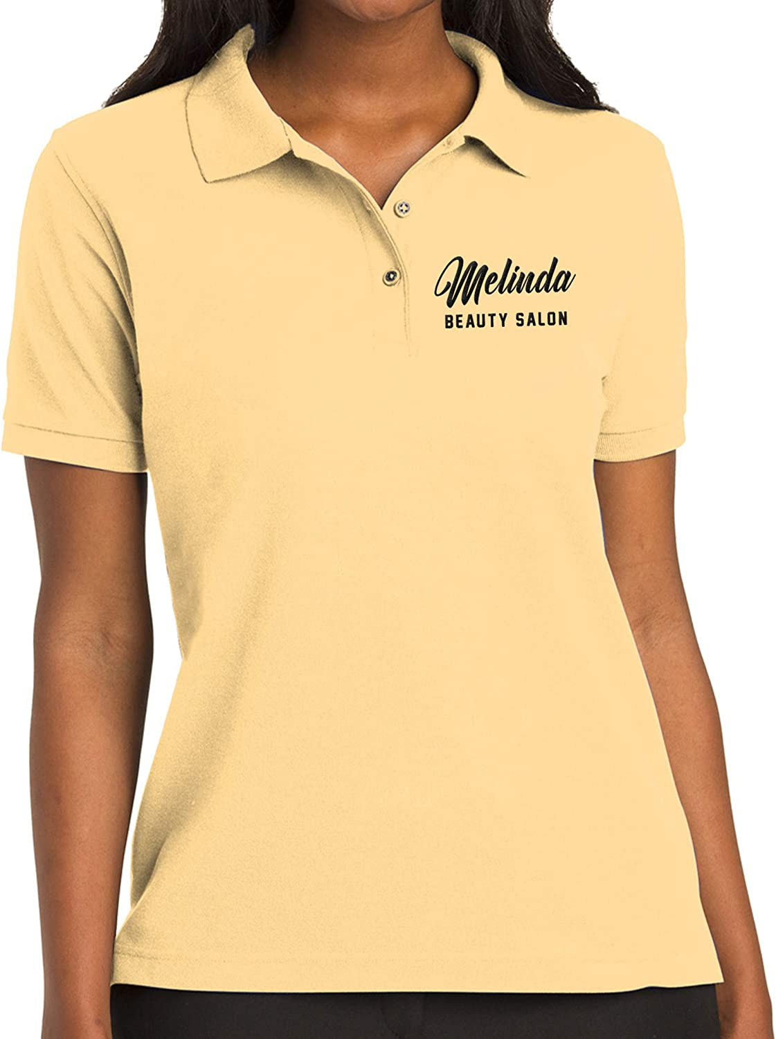 Custom Embroidered Polo Shirt for Women Add Your Personalized Own Embroidery Text