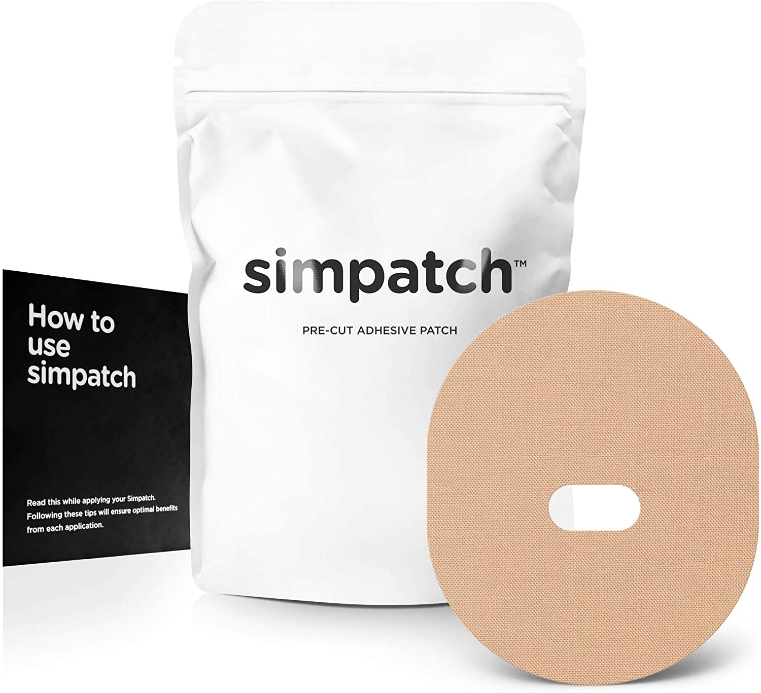 SIMPATCH – Guardian, Enlite Adhesive Patch (25-Pack) – Waterproof Adhesive, CGM Patches – Multiple Color Options