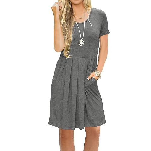 Empire Waist Casual Dress: Amazon.com