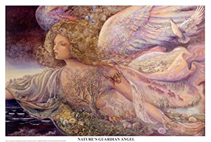 amazon com josephine wall nature s guardian angel art poster
