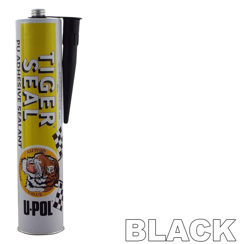 U-Pol WHITE Tiger Seal PU Adhesive Sealant Tigerseal Bond Body Panels UPOL Sealer Single 310mm Chaulk Cartridge