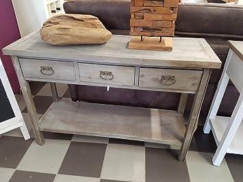Deko Tisch Telefontisch Ablage Konsole Beistelltisch Flurkommode