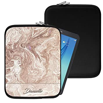 uk availability 9d9d7 d5177 Personalised Marble Neoprene Tablet Sleeve Bag Case: Amazon.co.uk ...