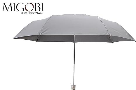 8168c8fc103c MIGOBI Lightweight Portable Umbrella with Travel Windproof Design Folding  UV Parasol for Women Girls,Mini UPF 50+ Umbrella with Gift Box ...
