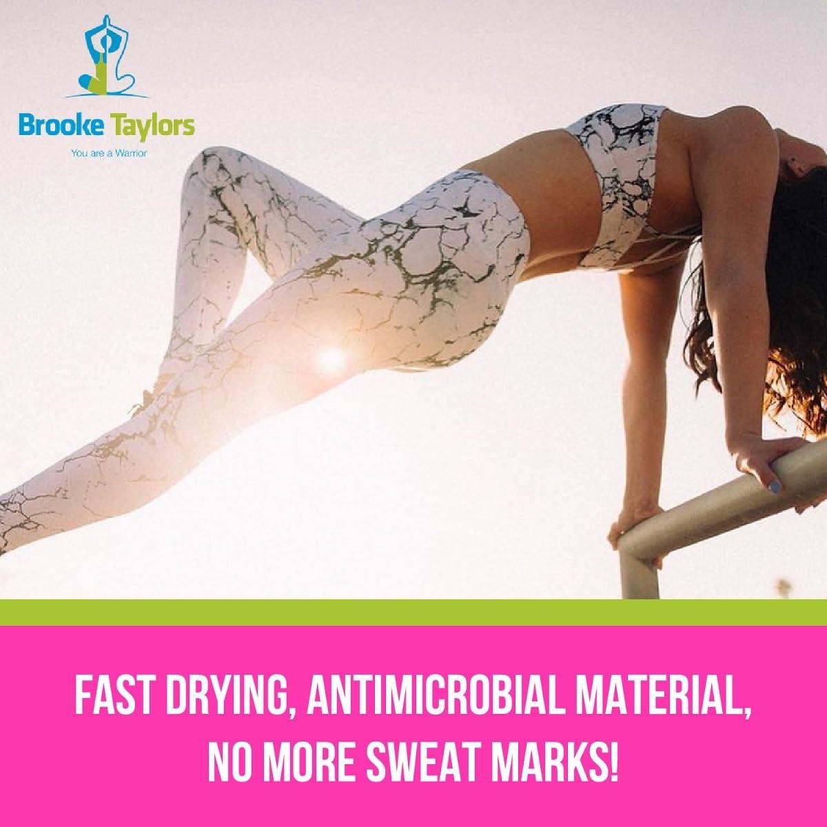 Brooke Taylors Yoga Kristen Sports Compression Bra Yoga Top for Women
