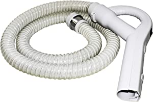 LifeSupplyUSA White Electric Vacuum Hose with Pistol Grip Swivel Handle Compatible with Aerus Electrolux Lux Legacy Epic 5000, 6000, 6500# 26-1129-22
