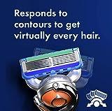 Gillette Fusion Proglide Men's Razor Handle + 4