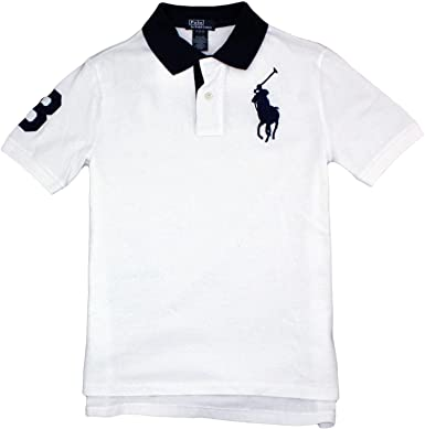 85682859 Image Unavailable. Image not available for. Color: Polo Ralph Lauren Big  Pony Boys Polo (2T-20, 10 Colors) (