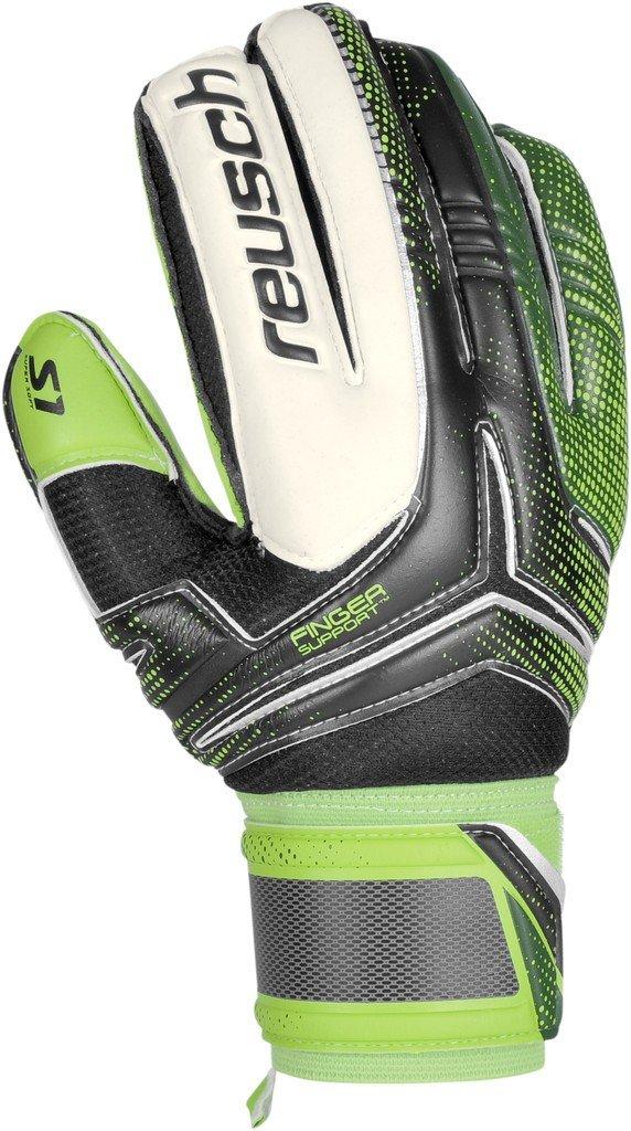 Reusch Re ceptor Prime S1 Finger Support schwarz grün Torwarthandschuhe NEU