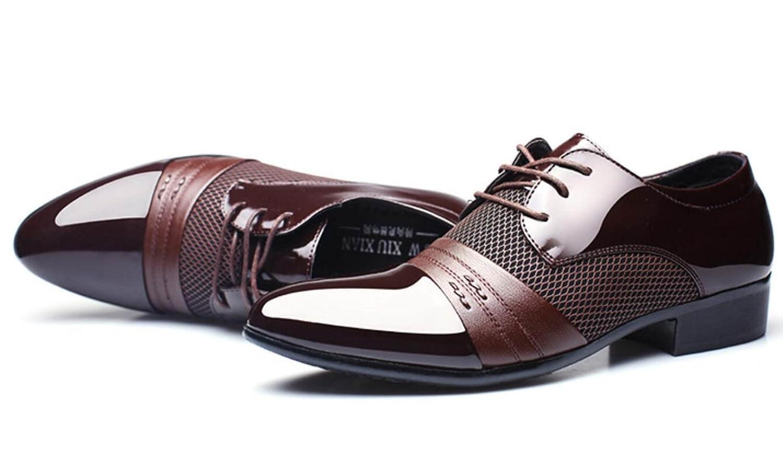 Los Trajes De Negocios De Los Hombres De CHENSH Calzan Los Zapatos Grandes Casuales Del Trabajo Del Uniforme De La Boda