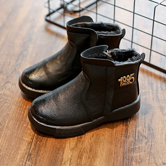 Indexp Kids Chelsea Snow Boots, Baby Boys Girls Vintage Solid Ankle Sneaker  Martin Shoes: Amazon.co.uk: Shoes & Bags