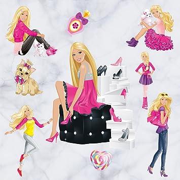Amazon Com Newest Version Home Decorative 3d Effect Cute Barbie