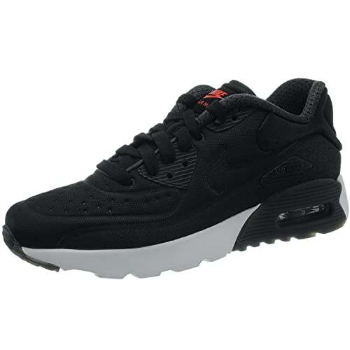 e0ea44d8a Nike Air MAX 90 Ultra PRM (GS), Zapatillas de Running para Niños, Negro  Black-University Red-White, 36 1/2 EU: Amazon.es: Zapatos y complementos