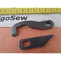 Couteau inférieur + supérieur surjeteuse Brother, 3034D 4234D XB0563001+XB1459001