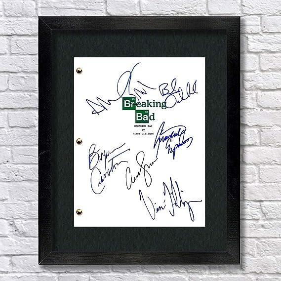 Breaking Bad TV Cast Autographed Script