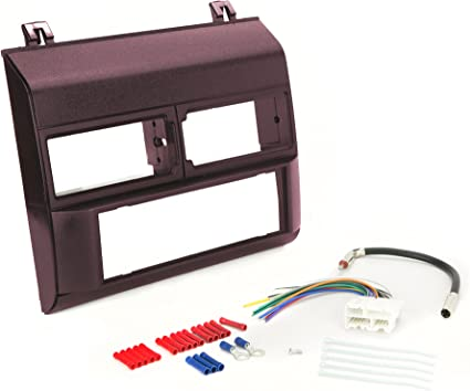 Metra 99-7874 Single//Double DIN Installation Kit for 2008-2009 Honda Accord Vehicles with o Dual-Zone Climate Controls