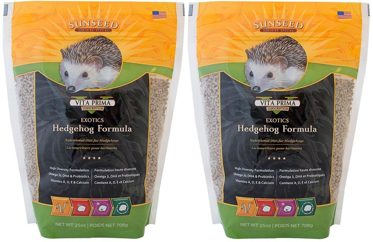 Sun Seed Sunscription Vita Hedgehog Adult Food (2 Pack of 25 oz.) by Sunseed Sunscription