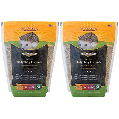 Sun Seed Sunscription Vita Hedgehog Adult Food (2 Pack of 25 oz.)