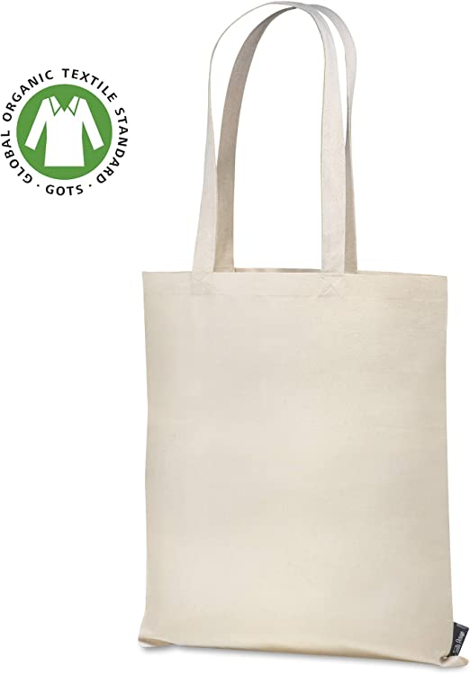 Santa Perago - Bolsa de Yute de algodón orgánico (300 g/m2 ...