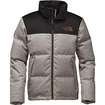 2e73150dd THE NORTH FACE Men's Novelty Nuptse Jacket Monument Grey Herringbone ...