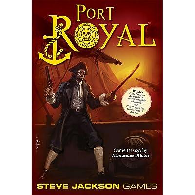 Steve Jackson Games Port Royal Board Game: Toys & Games