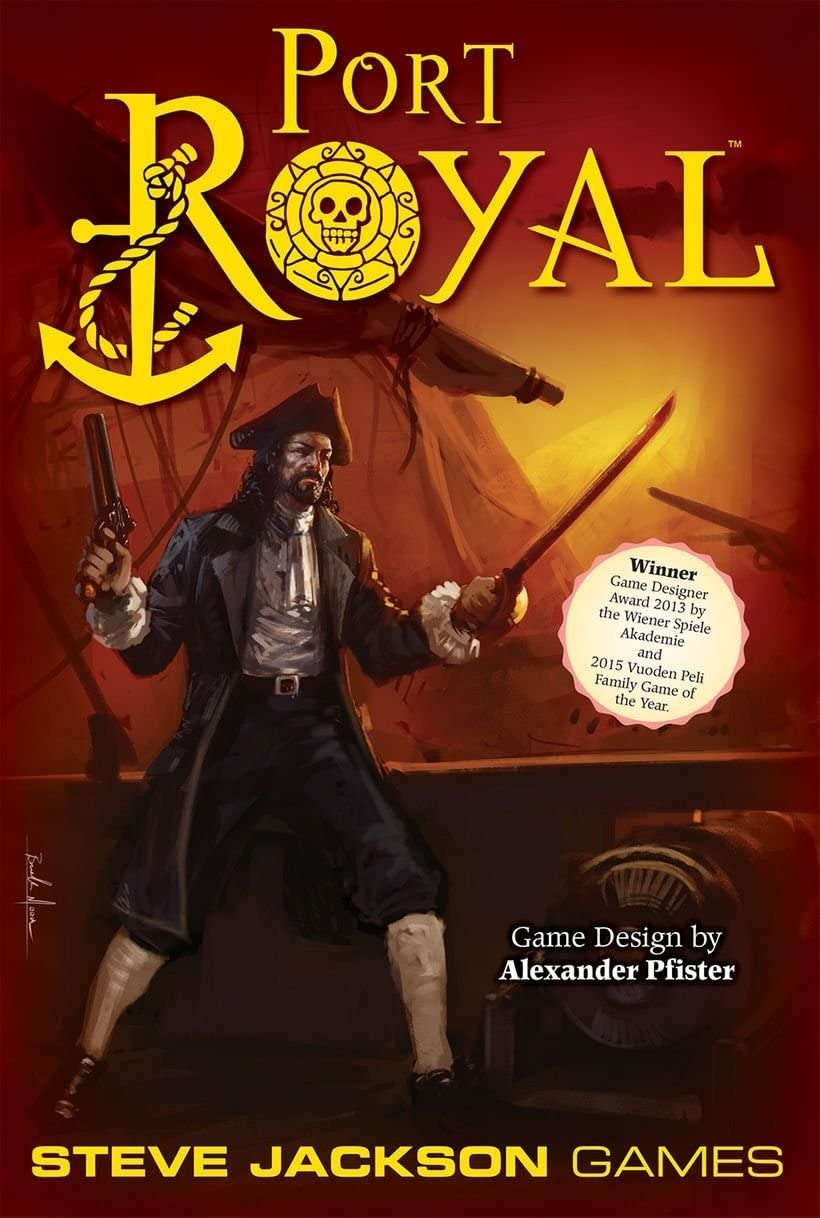 Steve Jackson Games Port Royal: Amazon.es: Juguetes y juegos