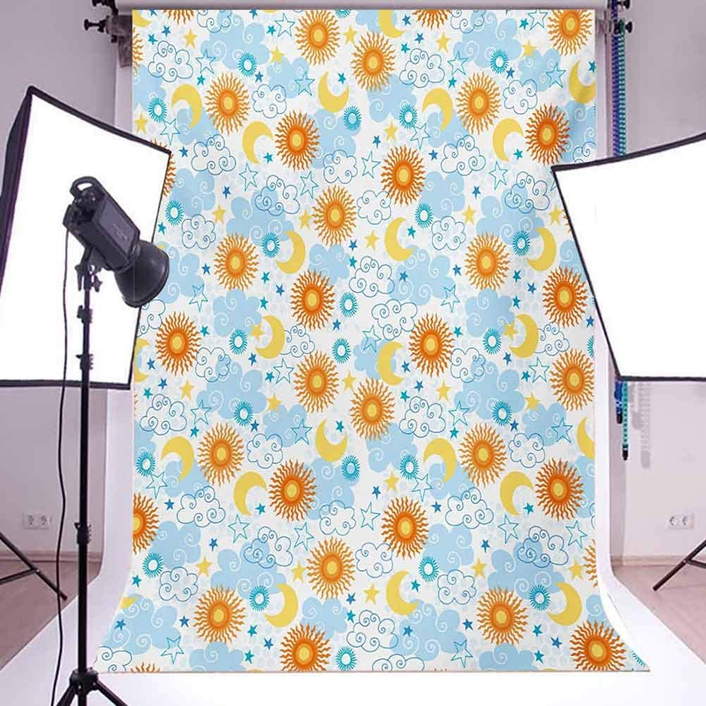Surf 8x10 FT Backdrop Photographers,Hippie Classic Old Bus with Surfboard Freedom Holiday Exotic Life Sketchy Art Background for Baby Birthday Party Wedding Vinyl Studio Props Photography