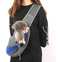 شنطة لحمل الحيوانات الاليفة بدون استخدام اليدين مع حزام قابل للتعديل، مصنوعة من قماش شبكي جيد التهوية، مثالية للتنقل في…