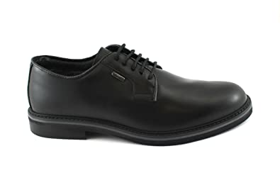 premium selection ae67f 8feaf IGI&Co 86790 Elegante Schwarze Schuhe Herren-Leder-Derby ...