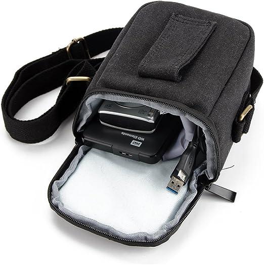 K-S-Trade Compatible con Canon PowerShot SX430 IS Cámara Bolsa Funda De Hombro Estuche Bolso Compacto Resisten A Los Golpes Protección, Negro: Amazon.es: Electrónica