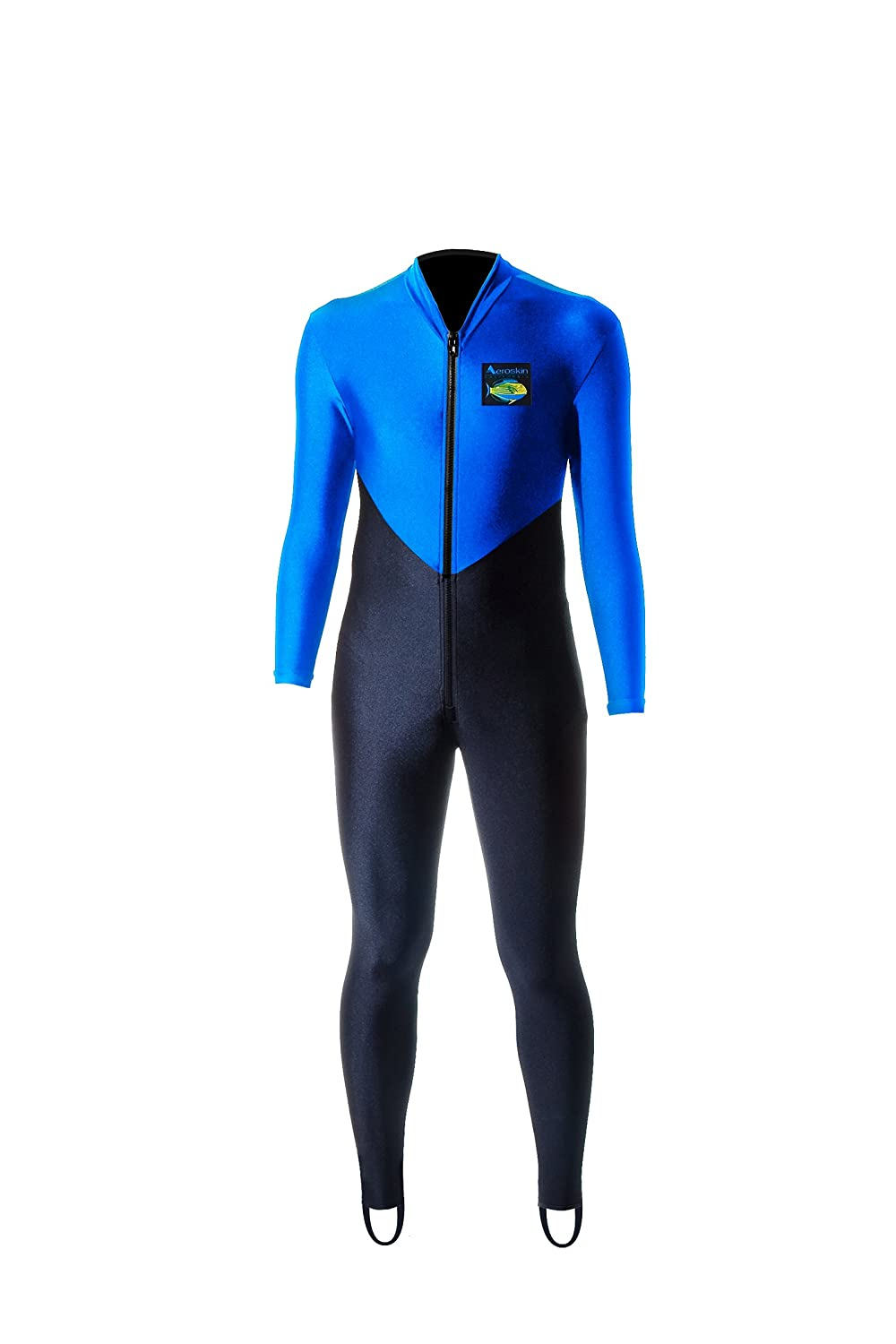 Image of Wetsuits Aeroskin Full Body (Black/Blue, Small)