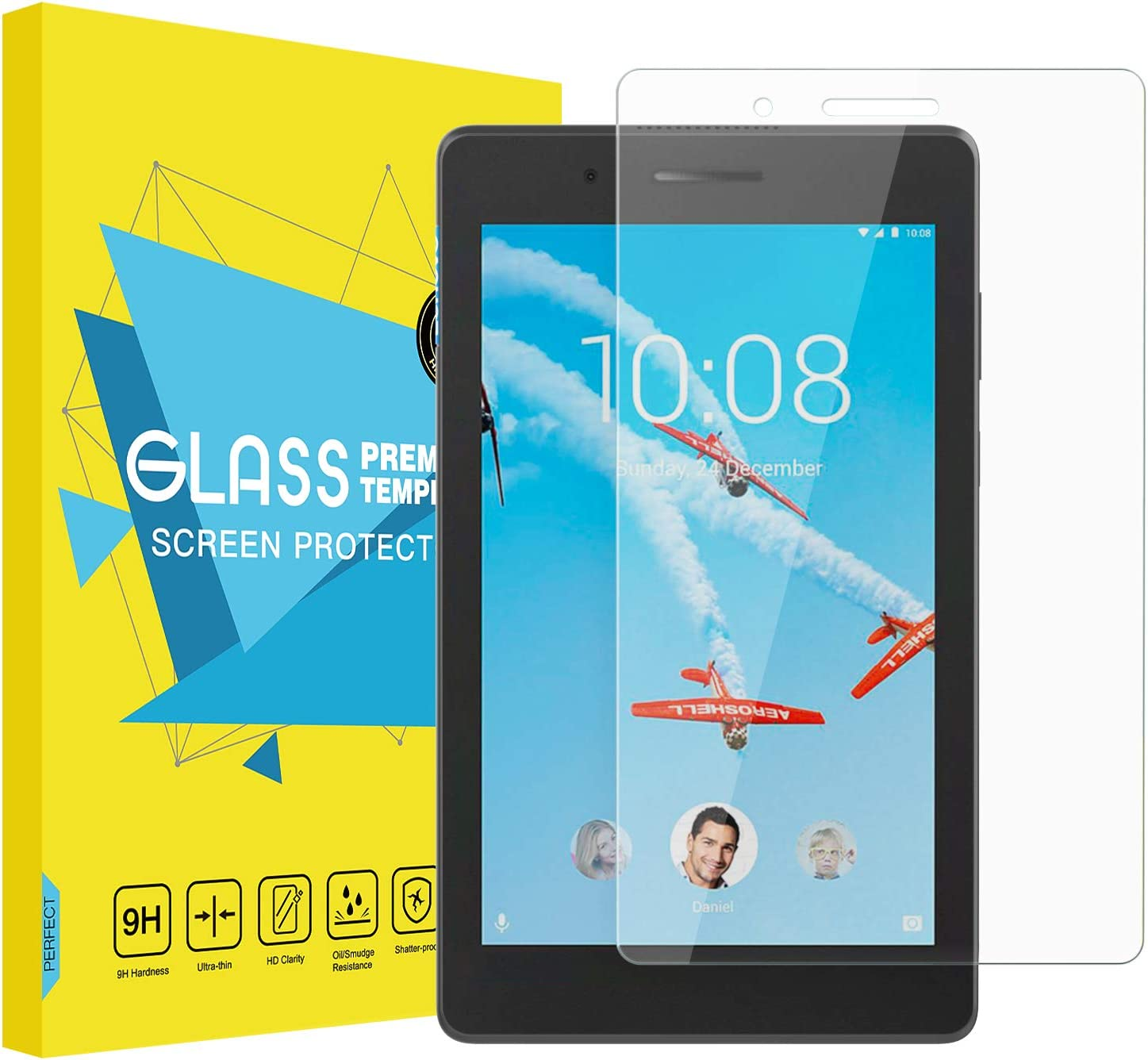 For Lenovo Tab E7 7.0 TB-7104F//N Tablet Tempered Glass Screen Protector Film New