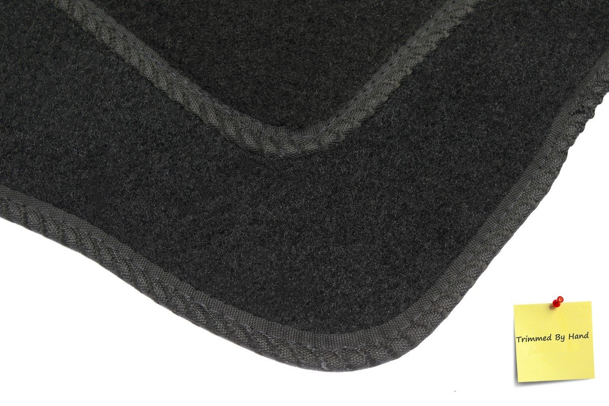 Fully Tailored Car Mats Set of 4 Black by Connected Essentials 5005985 Deluxe