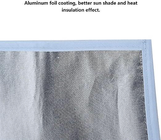 Cuque Car Rear Window Sun Visor Curtain Sunshade Cover Sun Shade Window Protector Deer Pattern Windshield Cover