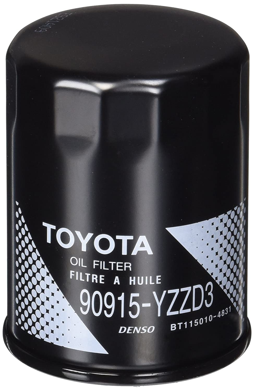 Genuine Toyota 90915-yzzd3 Filtro de aceite Asamblea: Amazon ...