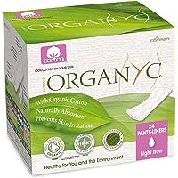 Organyc 100% Cotton Ultrathin Panty Liners Folded