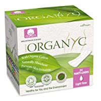 Organyc 100% Cotton Ultrathin Panty Liners Folded
