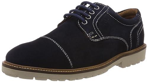 Aldo Galeri, Zapatos de Cordones Derby para Hombre, Marrón (21 Brown Suede), 41 EU