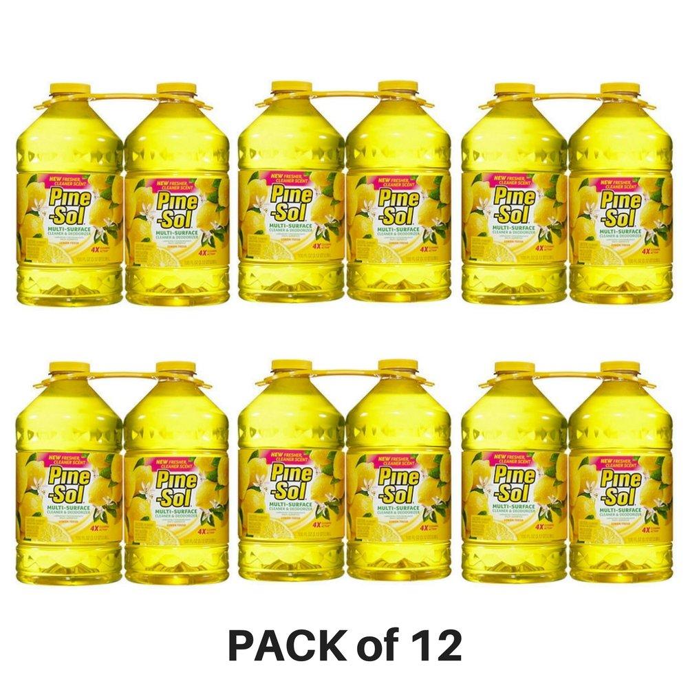 pine-sol、Multi - Surface Disinfectant、レモン香り – パックof 12 B0761WKGJ9