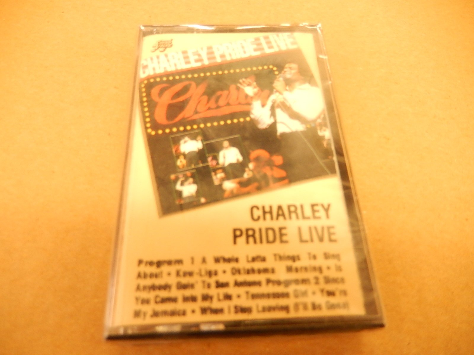 Charley Pride Live [Audio Cassette] [Dolby]