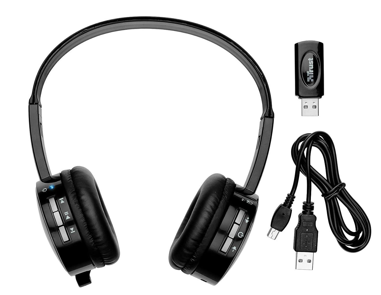 Trust eeWave S20 - Auriculares inalámbricos con micrófono: Amazon.es: Informática