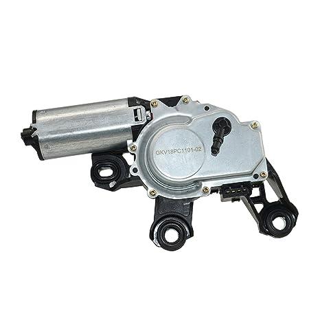 Motor del limpiaparabrisas trasero 8L0955711A: Amazon.es: Coche y moto