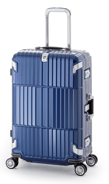 10年保証 大型90L/3辺157cm/5.8kg フレームタイプスーツケース A.L.I(アジアラゲージ)departure(ディパーチャー) HD-505-30.5シャイニングネイビー B01L40ZK18