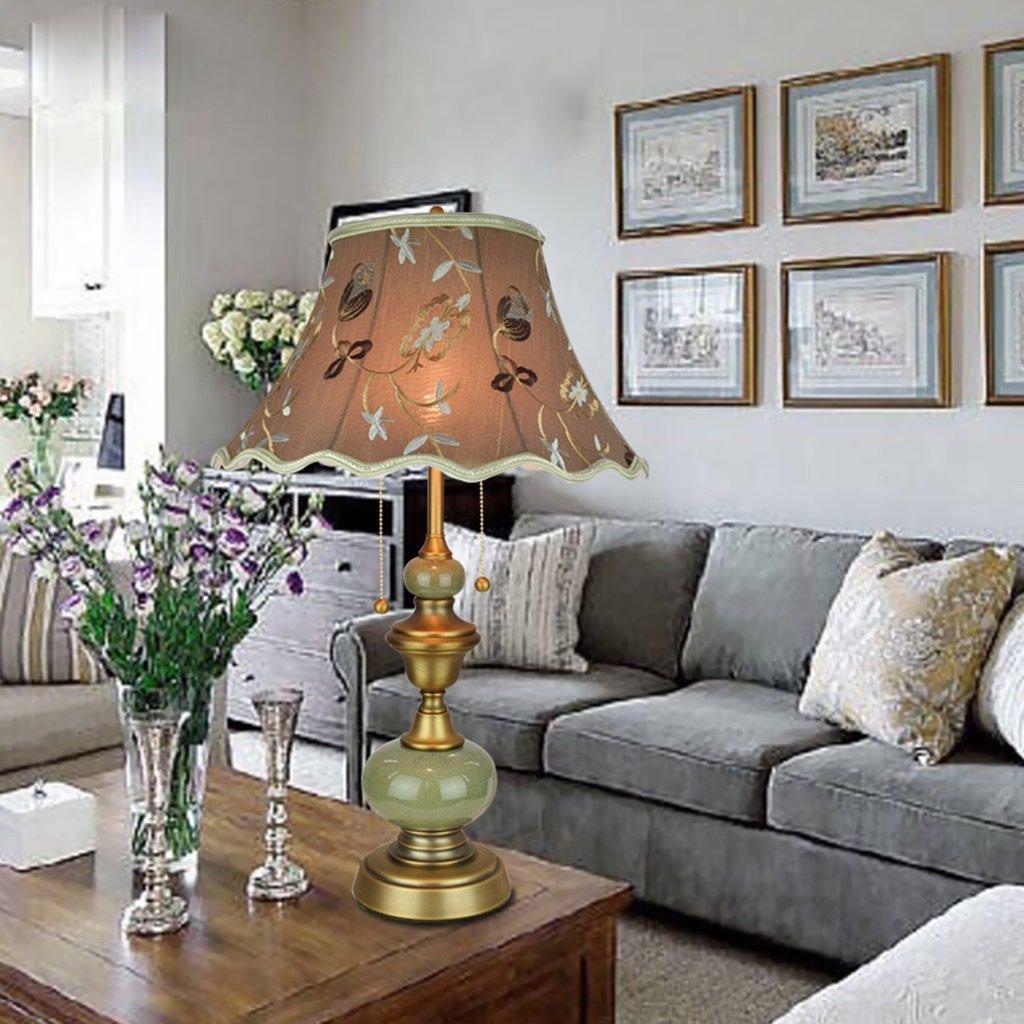 Cermet European Living Room Tischleuchte Warm Schlafzimmer Lampe