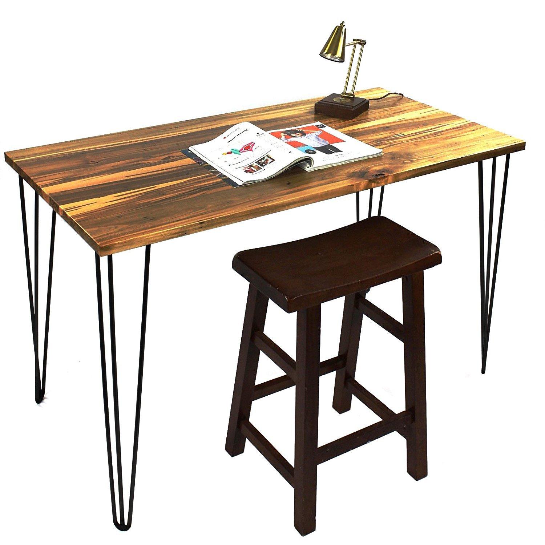 Signstek アイアンレッグ 28インチテーブル脚 鉄脚 4本セット ダイニング脚 DIY素材