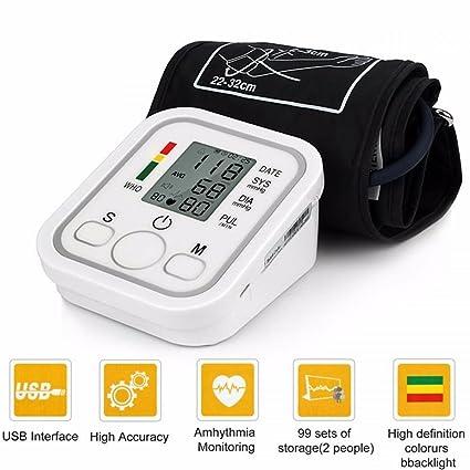 tradeshoptraesio® – Medidor de presión de brazo automático Tensiómetro aritmia