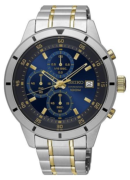 Amazon.com: Seiko SKS581 reloj de hombres con cronó ...