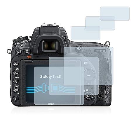 a9a24e1d0f Savvies Pellicola Protettiva Compatibile con Nikon D750 Protezione Schermo  [6 Pezzi]
