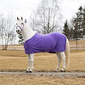 """Horze Pony Quick Dry Outer Anti Dust Fleece Cooler Purple Passion 66"""":  Amazon.ca: Pet Supplies"""