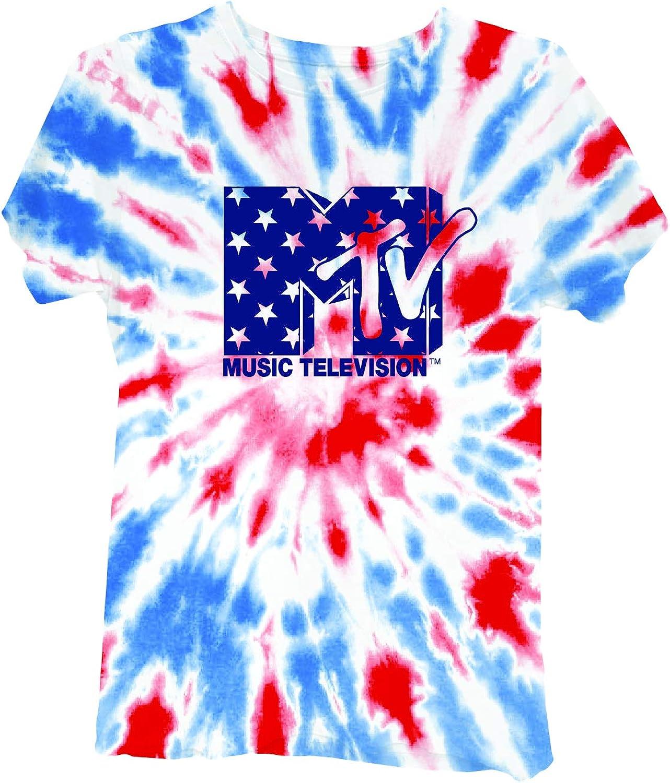 MTV Ladies Short Sleeve Shirt - #TBT Ladies 1980's Clothing - I Want My Logo Short Sleeve Tee